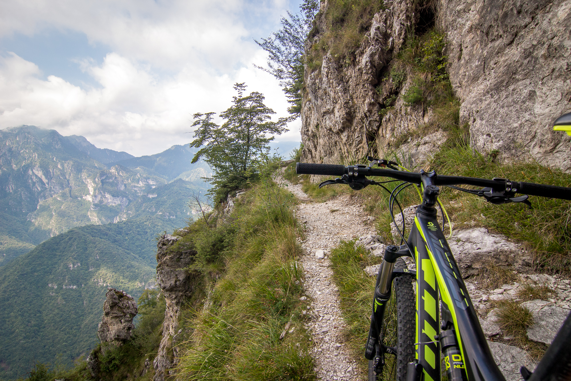 MTB Bocca di Fobia Tour am Lago di Garda