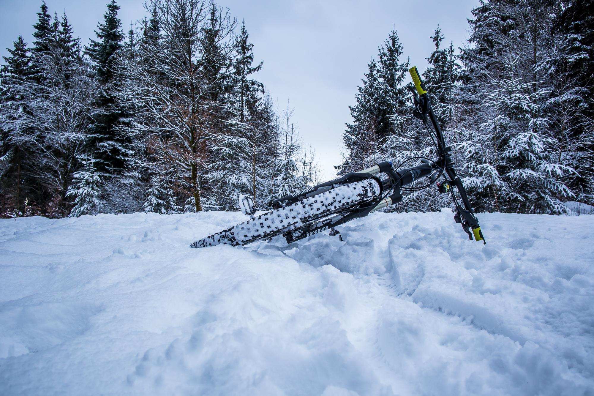 Schneerunde auf den Hometrails